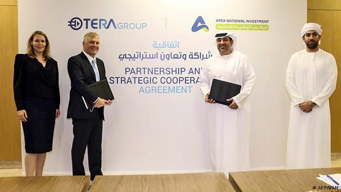 امضای یکی از قراردادهای همکاری اسرائیل و امارات، ۱۶ اوت ۲۰۲۰