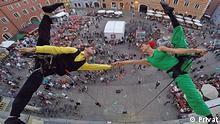 Pressebilder Flyscrapers for Vertical Dance | Tarek Alturk alias Arab Spiderman