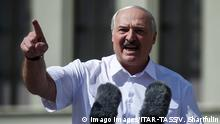 Minsk | Auftritt Lukaschenko Unabhängigkeitsplatz