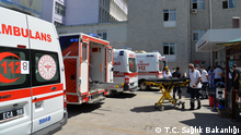 Die Bilder sind von den Konya Lehr- und Forschungskrankenhaus (Konya Eğitim ve Araştırma Hastanesi). Wir Quelle: https://konyaism.saglik.gov.tr/TR,189280/konya-sehir-hastanesine-tasinma-islemleri-sorunsuz-tamamlandi.html