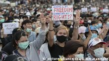 Thailand Bangkok Protest
