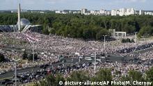 Weissrussland Minsk | Massenproteste | Belarus Proteste
