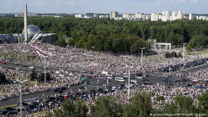 Протести у Мінську 16 серпня