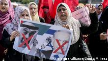 Gaza Protest gegen Israel VAE Beziehungen
