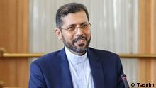 *** Bitte nur in Zusammenhang mit der Berichterstatung verwenden *** Said Khatibzadeh, ist der neue Sprecher von iranischem Außenministerium. via Mahmood Salehi