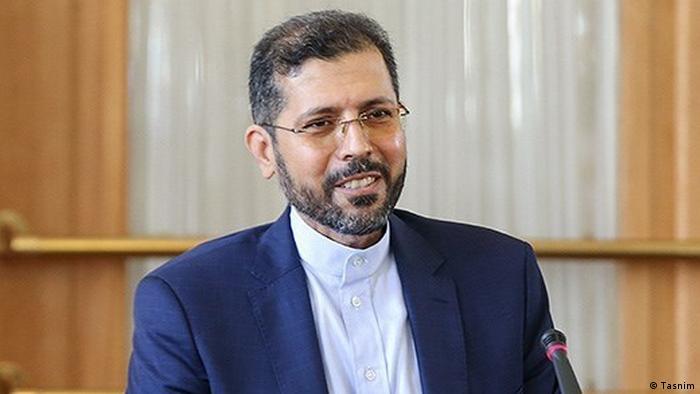 سعید خطیب زاده، سخنگوی وزارت امور خارجه ایران و تکذیب همراهی این کشور در انتقال سلاح به ارمنستان