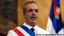 Dominikanische Republik Amteinführung Präsident Luis Abinader
