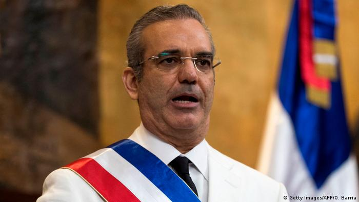 President of the Dominican Republic Luis Abinader