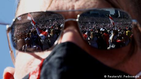 Minsk | Anti Lukaschenko Proteste (Reuters/V. Fedosenko)