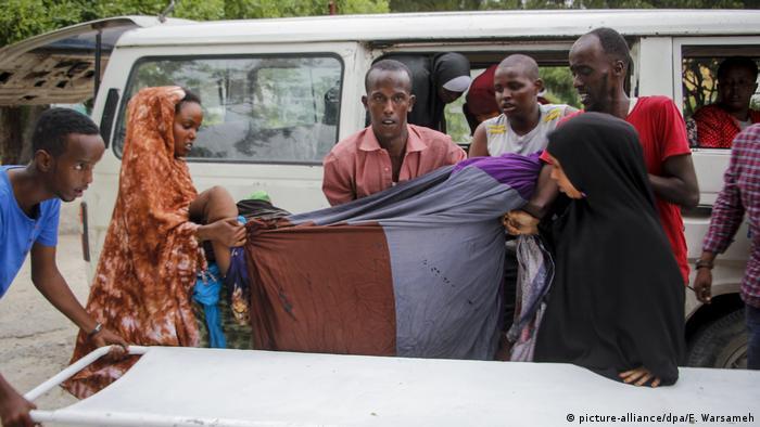 Somalia, Mogadischu I Terrorangriff auf Hotel