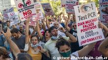 Coronavirus - Spanien Proteste
