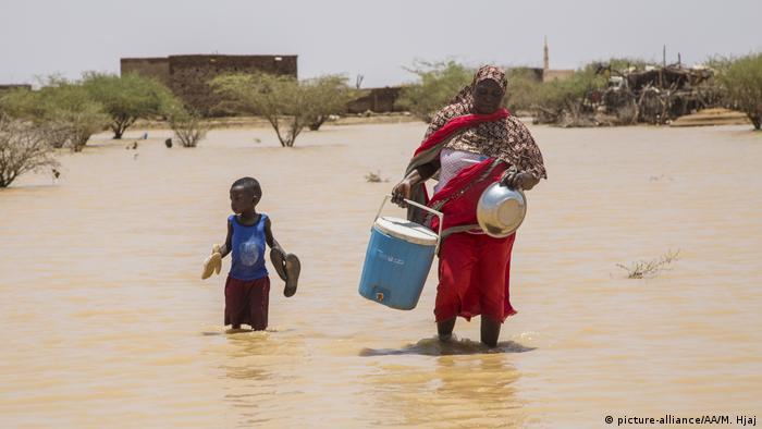 Sudan Überschwemmung