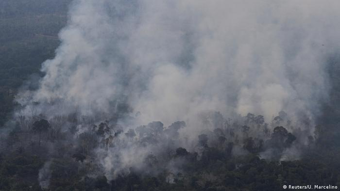 Brasilien Waldbrände Amazonas Regenwald (Reuters/U. Marcelino)