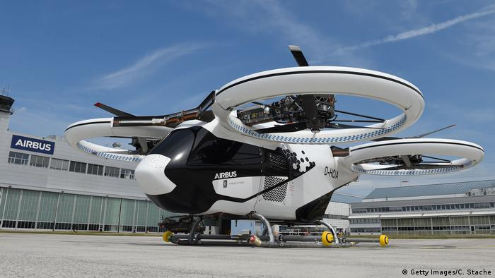 CityAirbus Airbus Flugtaxi (Getty Images/C. Stache)