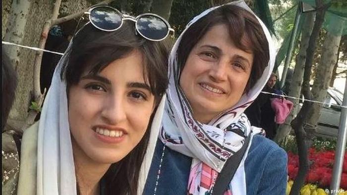 مهراوه خندان، دختر نسرین ستوده هم چندی پیش دستگیر و با قرار کفالت آزاد شد