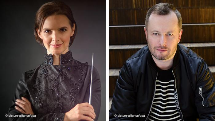 Bildkombo Oksana Lyniv und Dmitri Tcherniakov