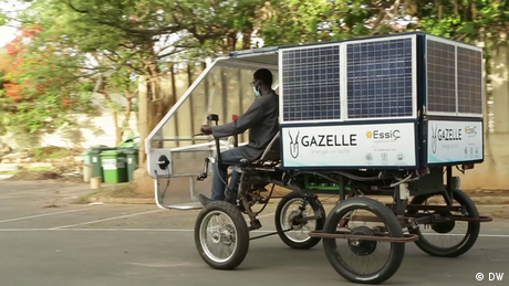 Eco Africa - Mobile solar-powered batteries for rural populations