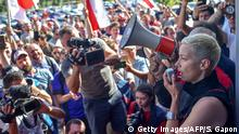 Belaurs Minsk | Proteste - Maria Kolesnikowa