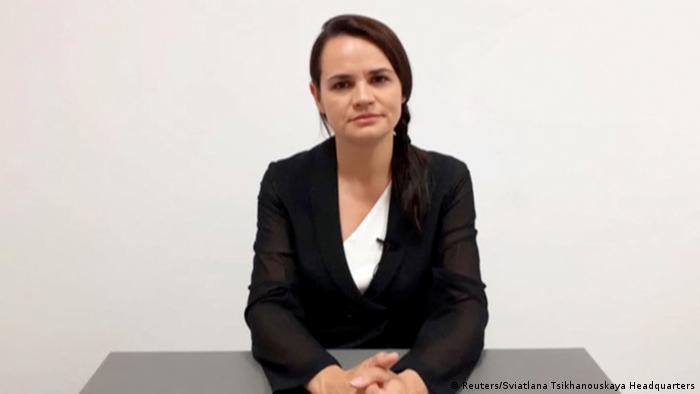 Світлана Тихановська закликала Європейську Раду не визнавати вибори у Білорусі