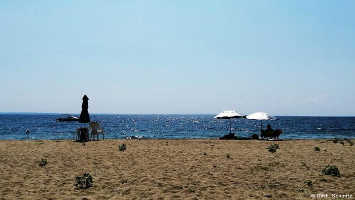 Prazna plaža na Halkidikiju
