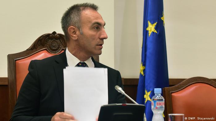 Nord-Mazedonien | Artan Grubi | DUI Generalsekretär