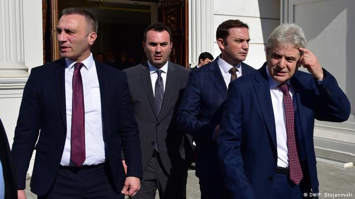 Nord-Mazedonien | Politische Führung der DUI | Skopje