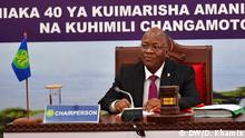 Tanzania hands over SADC chairmanship to Mozambique Caption 2: The President of Tanzania, John Magufuli