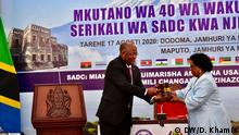 Afrika Tansania Mosambik SADC John Magufuli