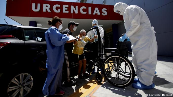 Hospital en Monterrey, México.