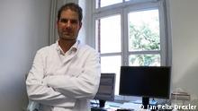 El Prof. Dr. Jan Felix Drexler, virólogo del hospital Charité, de Berlín.