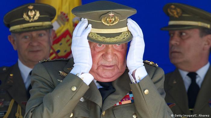 Ex-king Juan Carlos in 2014