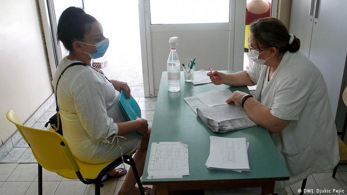 Serbien Nis Geburtsklinik Coronakrise