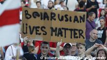 Minsk Opposition Anti Lukaschenko Proteste