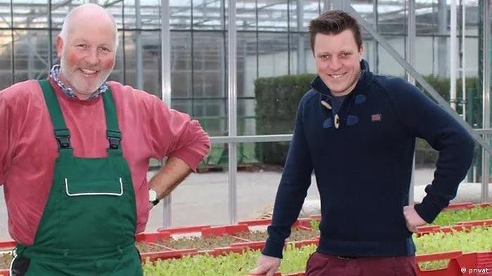 Фермеры: отец и сын - Ханс-Георг и Себастиан Поль