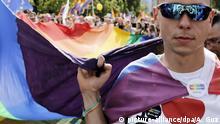 Pride-Parade in Warschau