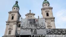 Salzburger Festspiele 2020.Festspielhaus Salzburg.Dom Salzburg, Jedermann Bühne, 100 Jahre Festspiele.Foto: Franz Neumayr 16.8.2020 - 20200816_PD8123 |