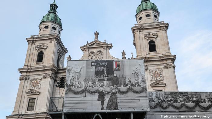 The Festspielhaus in Salzburg Austria.