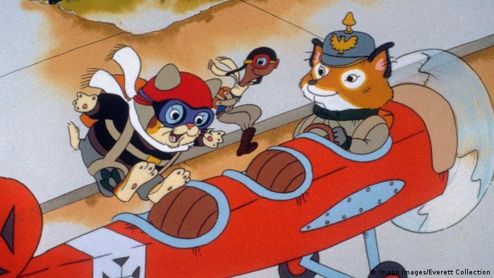 Still from Richard Scarry animation with Huckle Cat, Lowly Worm, Rudolf von Flugel (Imago Images/Everett Collection)