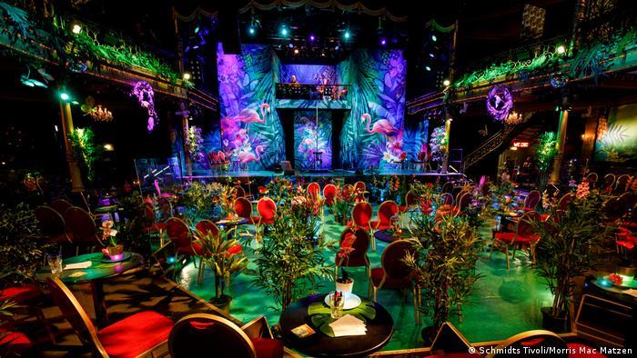 Pozornica za predstavu Paradiso