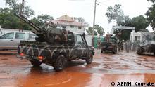 Mali Militärstützpunkt in Kati