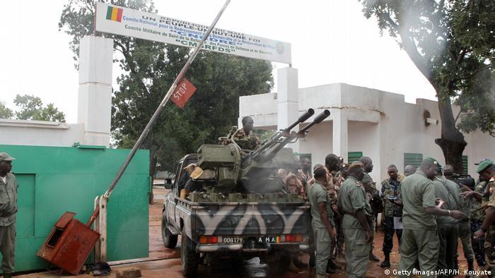 Le camp de Kati d'où est parti le coup d'Etat miliataire en 2012