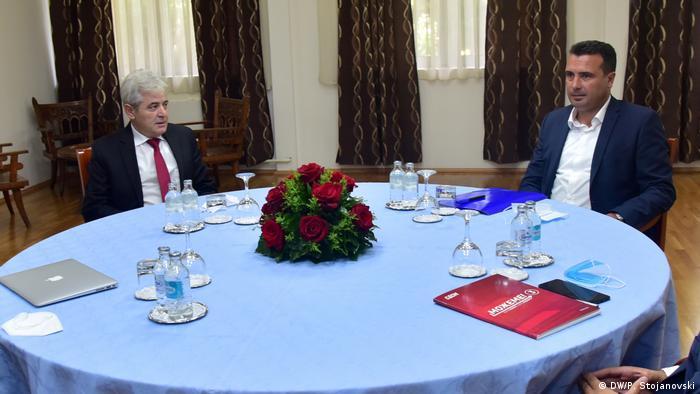 Nord-Mazedonien Koalitionsverhandlungen