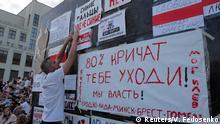 Belarus Minsk Protest