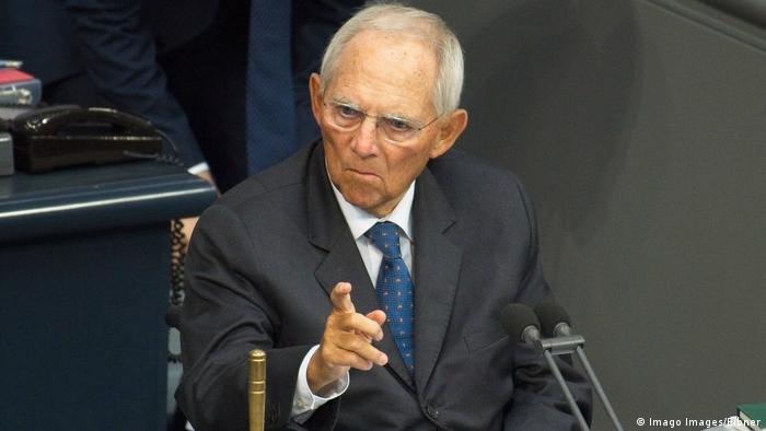 Wolfgang Schäuble (Imago Images/Eibner)