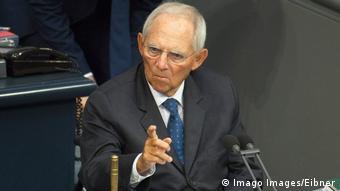 Berlin Bundestagspräsident Wolfgang Schäuble