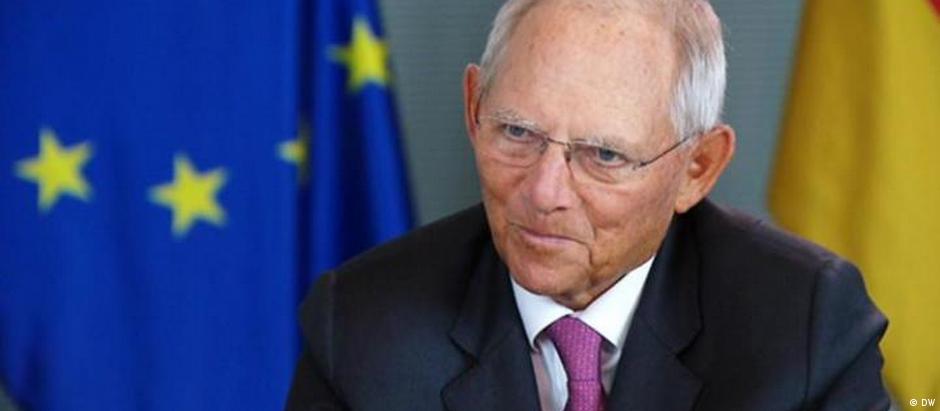 Screenshot DW Interview mit Wofgang Schäuble (DW)