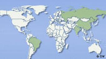 Symbolbild BRIC Staaten