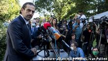 Den Haag UN-Sondertribunal zum Libanon Prozess Hariri Mord Saad Hariri