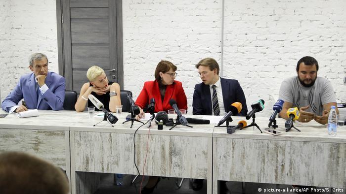 Члены Координационного совета оппозиции Беларуси