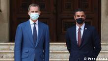 Spanien Mallorca | Treffen PM Sanchez König Felipe